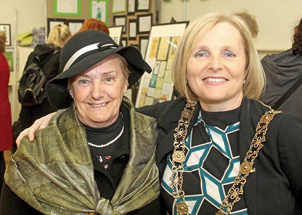 Pictured Above: Mary O'Toole and Lord Mayor Críona Ní Dhálaigh.