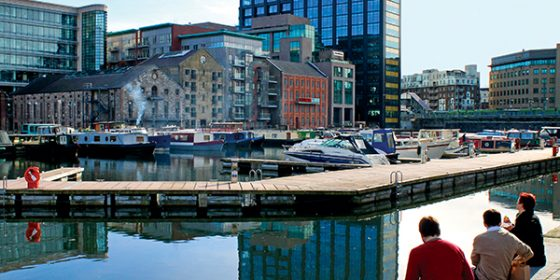Wakeboarding Tour to visit Grand Canal Dock