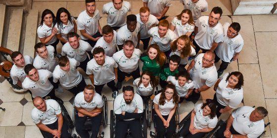2016 Irish Paralympic Team revealed at City Hall