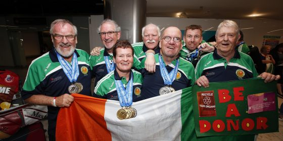 Team Ireland wins big at European Championship