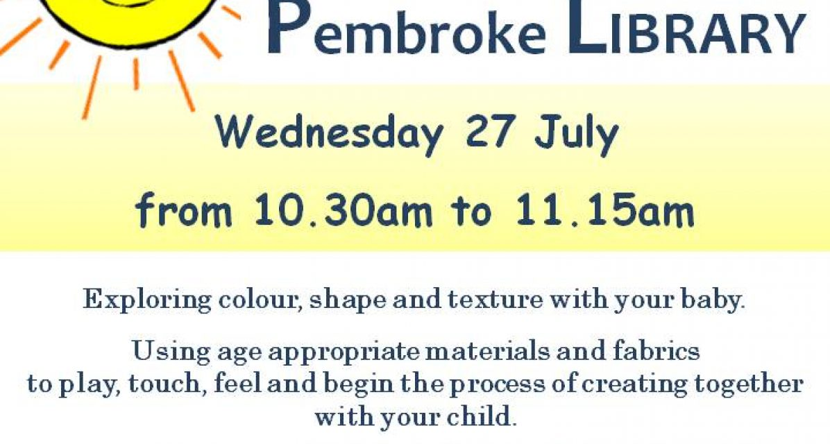 Children's Workshops at Pembroke Library