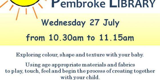 Children's Workshops at Pembroke Library