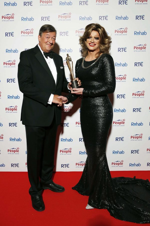 Rory O'Neill aka Panti Bliss won an Award in 2014 for fighting for equality in Ireland.