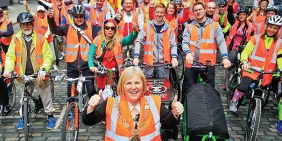 Dublin's Safe Cycle