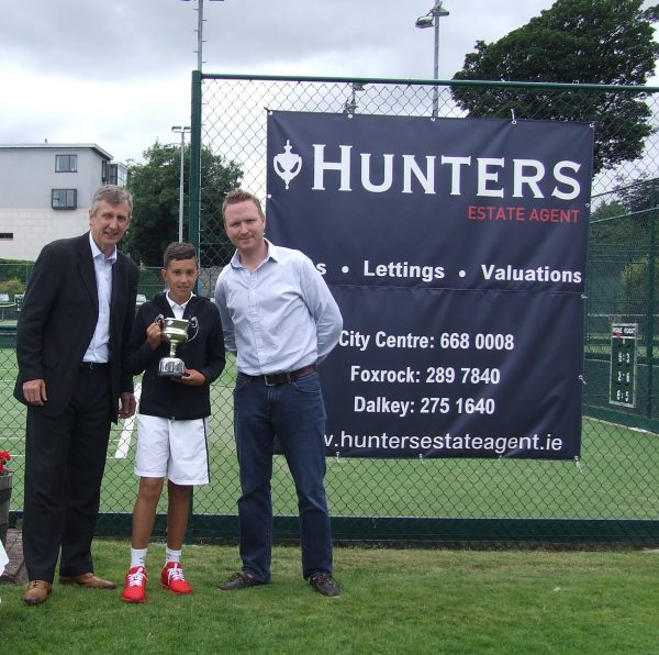 Hunters Donnybrook Junior Open August 2016_U12 Boys Singles Winner Reem Gaturov