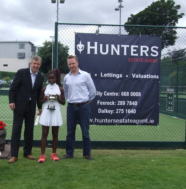 Hunters Donnybrook Junior Open August 2016_U12 Girls Singles Winner Celine Simunyu