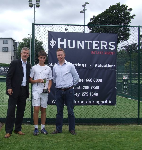 Hunters Donnybrook Junior Open August 2016_U14 Boys Singles Winner Rory Hogan