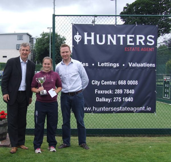 Hunters Donnybrook Junior Open August 2016_U14 Girls Singles Winner Kate Huizenga