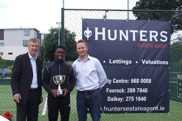 Hunters Donnybrook Junior Open August 2016_U16 Boys Singles Winner Adebola Obasoto