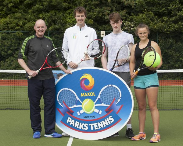 Maxol Park Tennis at Shankill Tennis Club. Photo: Peter Houlihan
