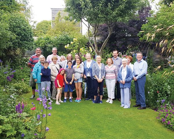 Pictured Above: STTCA Secret Gardens Group visiting one of the beautiful gardens in Sandymount in July 2016.