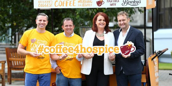Biggest Coffee Morning for Hospice 2016 launches