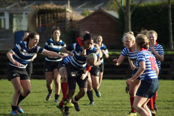 Women's rugby players from Wanderers