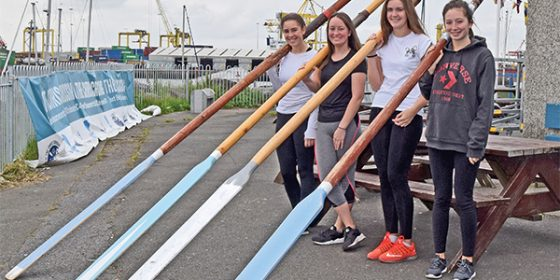 Skiff racing and the girls of Stella Maris