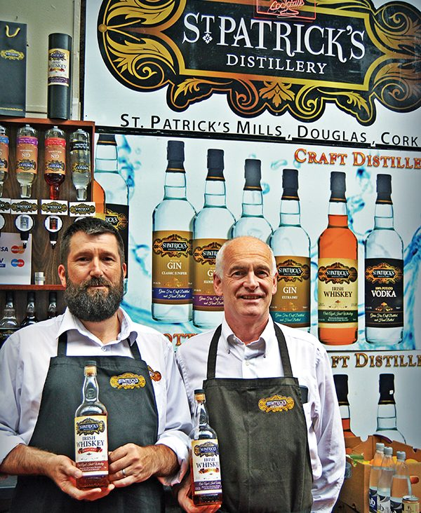 Pictured above: Barry Fitzgerald and Cyril Walsh of St Patrick's Distillery. Photos: Kevin O'Gorman.