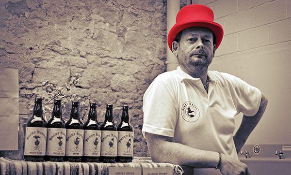 Pictured above: Dariusz Stepien of Beaky Dargus Brewery.