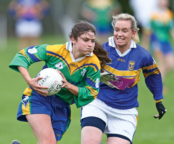 Pictured: Clanns Anne O'Donavan – Junior Player of the year.