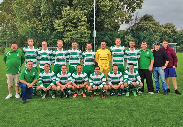 Pictured: Ringsend Rovers, by Tony Faulkner.