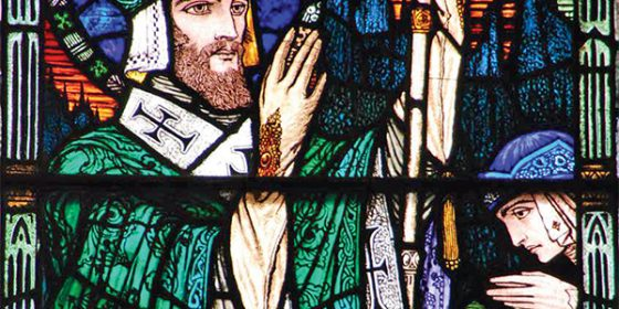 Stained-glass restoration at St Patrick's