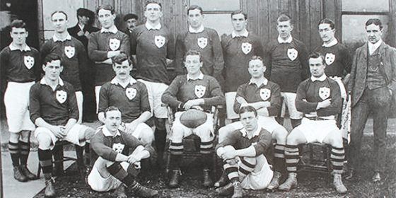 Monkstown FC honours its fallen of WW1