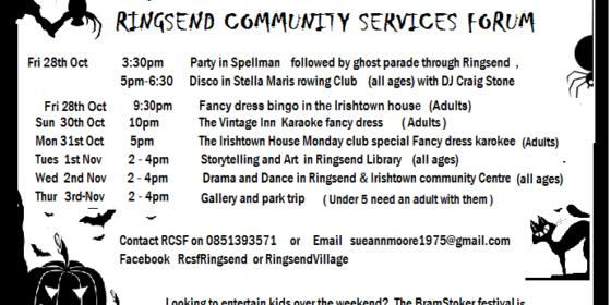 Halloween Festival in Dublin 4