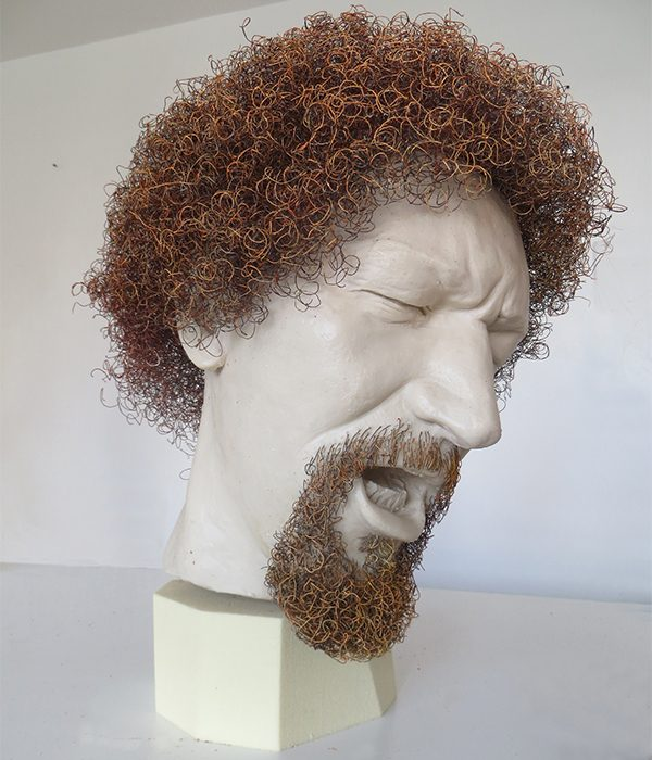 Pictured Above: A bust of Luke Kelly by Vera Klute.
