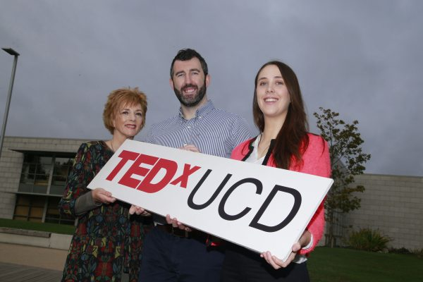 28-10-2016 - NovaUCD - Speakers Revealed for TEDxUCD 2016 Business - Ireland - 7 November 2016 - University College Dublin (UCD) today announced the 10 speakers who will take part in the University's fourth annual TEDxUCD event which takes place on 9 December in the UCD Dramsoc Theatre, UCD Student Centre.  Pictured at University College Dublin are TEDxUCD 2016 speakers Dr Susan Delaney, a clinical psychologist, and Bereavement Services Manager at the Irish Hospice Foundation; Dr Andrew Hogan, a senior scientist with the obesity immunology research group at St. Vincent's University Hospital, and a research scientist at the UCD School of Medicine and Dearbhla Burke, a chartered physiotherapist, and a PhD student at the UCD School of Public Health, Physiotherapy and Sports Science.  This event will feature exceptional talks and performances from members of the wider UCD community including researchers, students, alumni and friends who will speak on a wide range of ideas worth spreading.  Photograph Nick Bradshaw