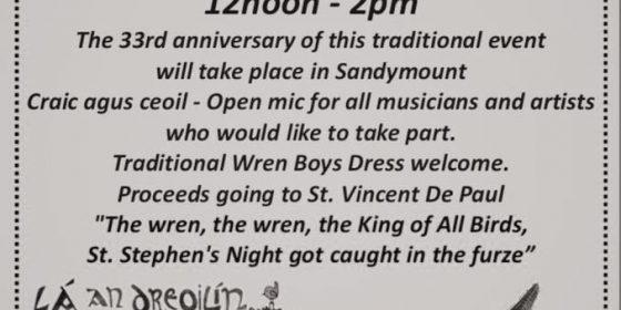 Day of the Wren on St. Stephen's Day
