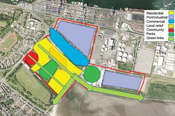Picture: Outline of Land Use from DCC's 'Pre-Draft Consultation Update to SEA committee'.