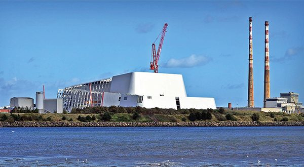 Pictured: Poolbeg incinerator.