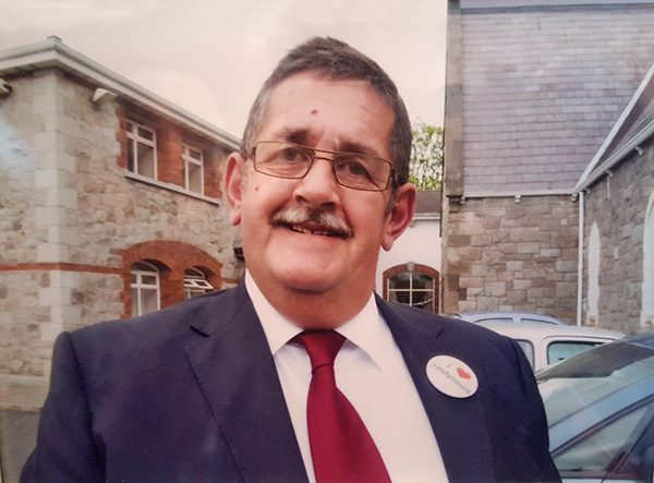 Pictured: James Bailie. Photo courtesy of Sandymount Tidy Towns Community Association.