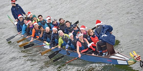 Rowing fundraiser for homeless