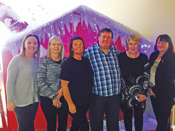 Merry Christmas and a Happy New Year from the staff at Ringsend and Irishtown Community Centre Picture courtesy of Jennifer Betts.