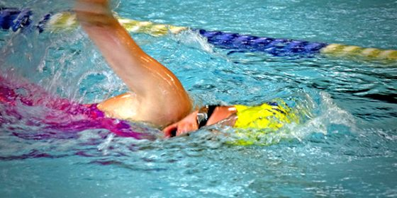 Swimming gala kicks off aquatic season