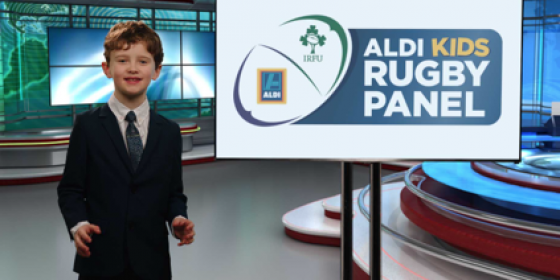 Aldi Kids Rugby Panel at Donnybrook Stadium