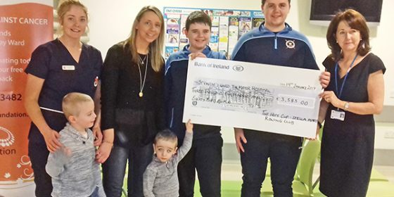 Stella Maris Hope Row raises €3,585 for Oncology Unit