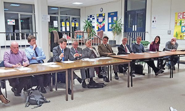 Q & A with local politicians in Ringsend