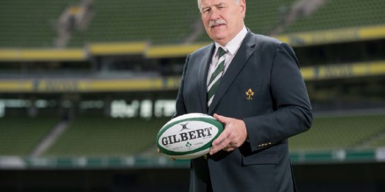 Philip Orr Elected President  of the IRFU