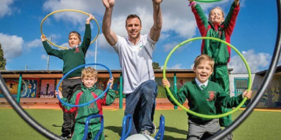 Tommy Bowe launches Subway Sports for Schools