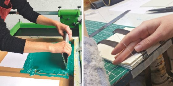 Make and Create at the National Print Museum