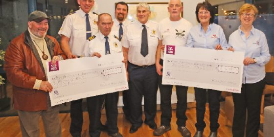 All-in-a-Row for rescue charities