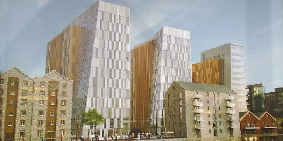 'Tilting Towers' win for developer