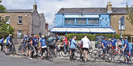 The Bath Pub Charity Cycle