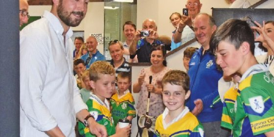 Clanna Gael Fontenoy Success for Clanns on and off the pitch