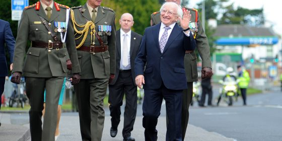 President to give festival of history closing address at Dublin castle