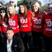 '100 days of walking' climaxes in Herbert Park