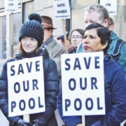 Campaign to save Markievicz Pool from Metrolink