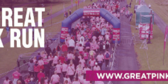 Pretty in Pink: Join the Great Pink Run and beat cancer