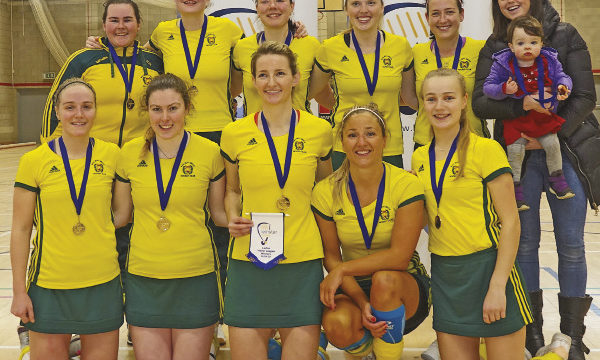 Railway Union Ladies Hockey Team win Leinster Indoor League 2019-20