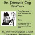 St John's Church annual St. Patrick's Day Holy Eucharist Service